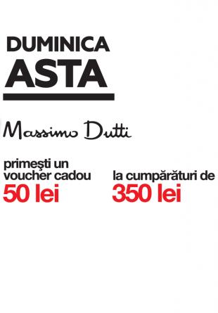 O surpriză de la Massimo Dutti