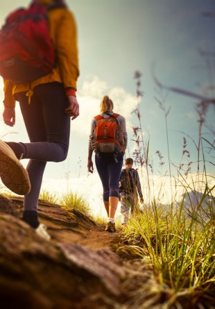 Ultima lună de vară, de excursii şi drumeţii
