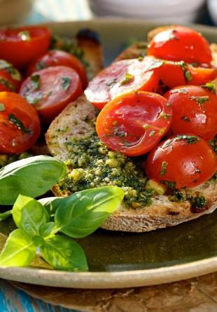 Pesto raw vegan