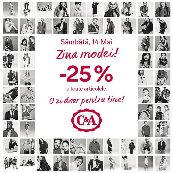 C&A Ziua Modei Primavara 2016_Facebook