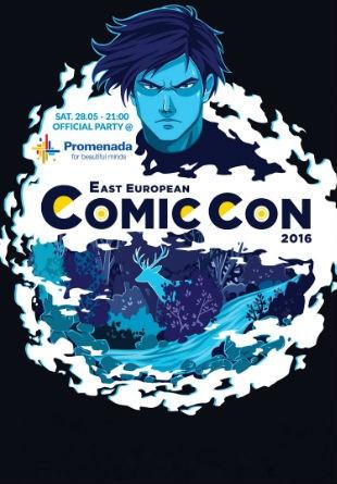 East European Comic Con 2016 petrece la Promenada!
