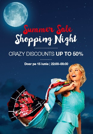 Hai la Summer SALE Shopping Night!