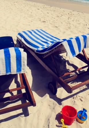 La plajă cu cel mai bun prieten