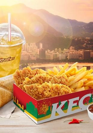 KFC te sponsorizează cu o ofertă delicioasă!