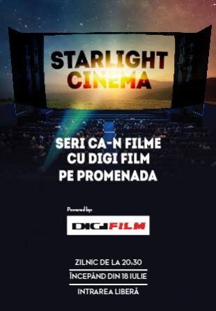Cinema în aer liber #PePromenada