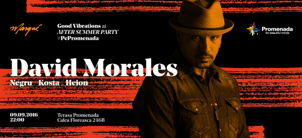 DAVID MORALES | Negru | Heion | Costa | #PePromenada