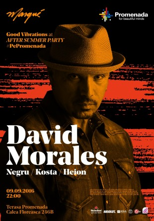 Good Vibrations în pas de dans cu David Morales #PePromenada