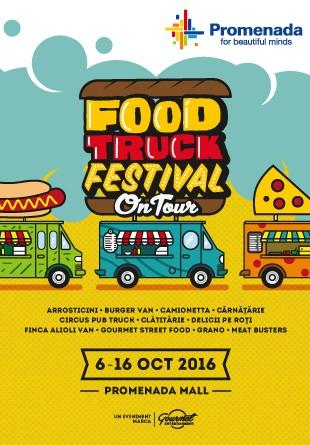 Food Truck Festival: delicii gourmet la Promenada!
