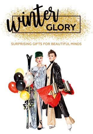 WINTER GLORY: Cadouri surprinzătoare pentru sărbători glorioase
