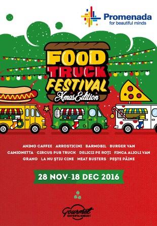 O, ce veste minunată:  Moșul vine cu o nouă ediție Food Truck Festival