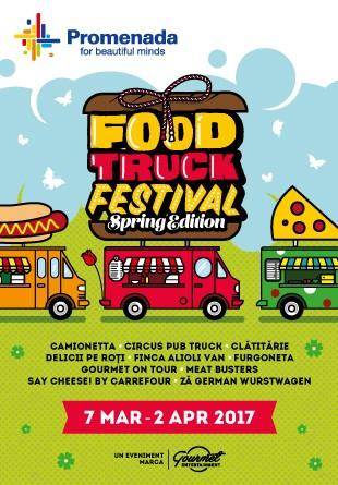 Primăvara aduce o nouă ediție Food Truck Festival la Promenada!