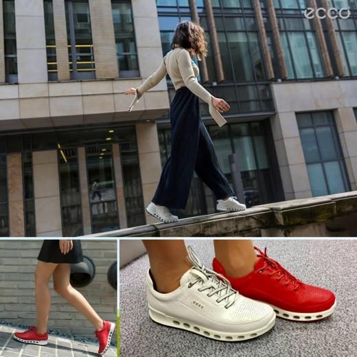 Pantofii ECCO cu respirabilitate 360