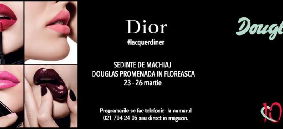 Douglas | Ședințe de machiaj Dior