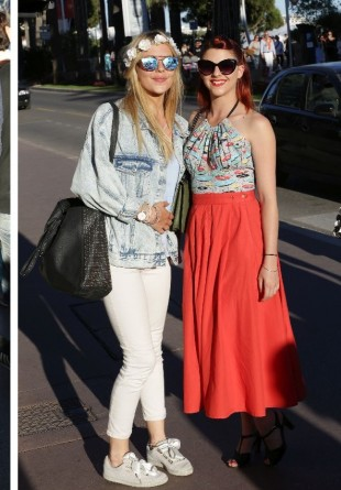 CANNES FILM FESTIVAL: Cele mai chic ținute street style by Cristina Bazavan