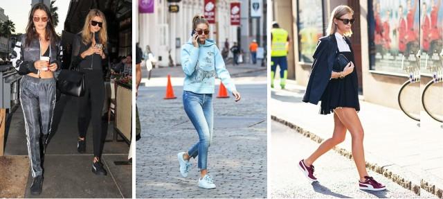STAR STYLE Cum poartă vedetele pantofii sport PUMA