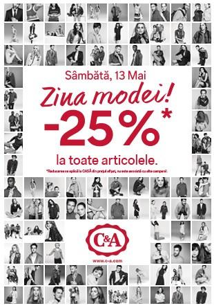 Sărbătorește Ziua Modei cu o sesiune de shopping la reducere!