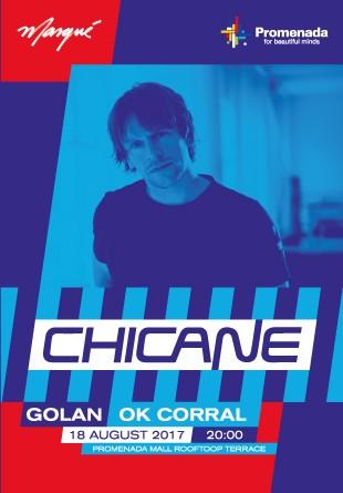 Concert CHICANE //GOLAN // OK Corral #PePromenada