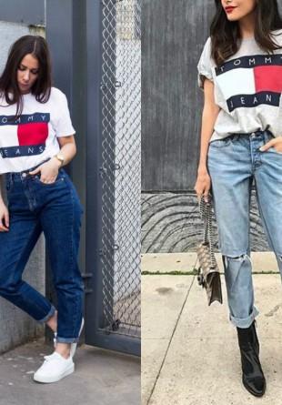 4 moduri în care poți purta tricoul iconic Tommy Hilfiger