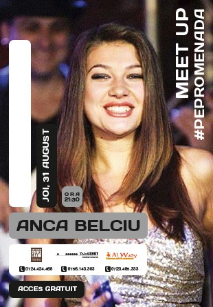MEET UP #PePromenada | CONCERT ANCA BELCIU & Friends