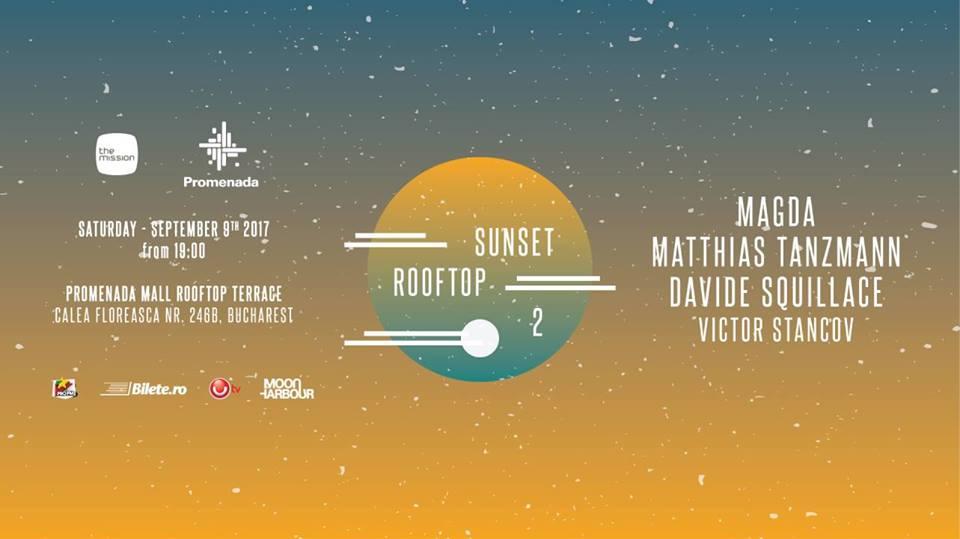 Sunset Rooftop 2 #PePromenada- Magda, Matthias Tanzmann, Davide Squillace