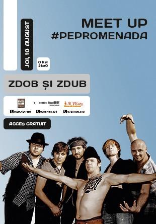 Concert  Zdob și Zdub #PePromenada