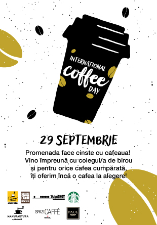 Pe 29 septembrie, sărbătorim International Coffee Day