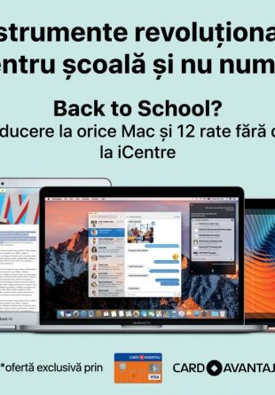 ICentre, back to school  – vino sa iti iei cel mai cool instrument