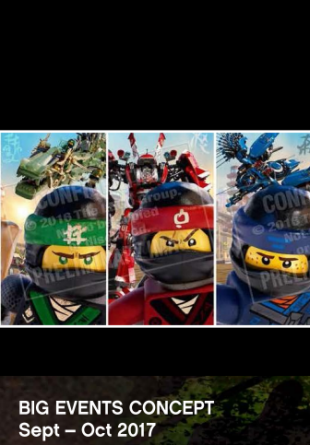 LEGO - The Ninjago Movie