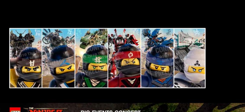 LEGO - The Ninjago Movie