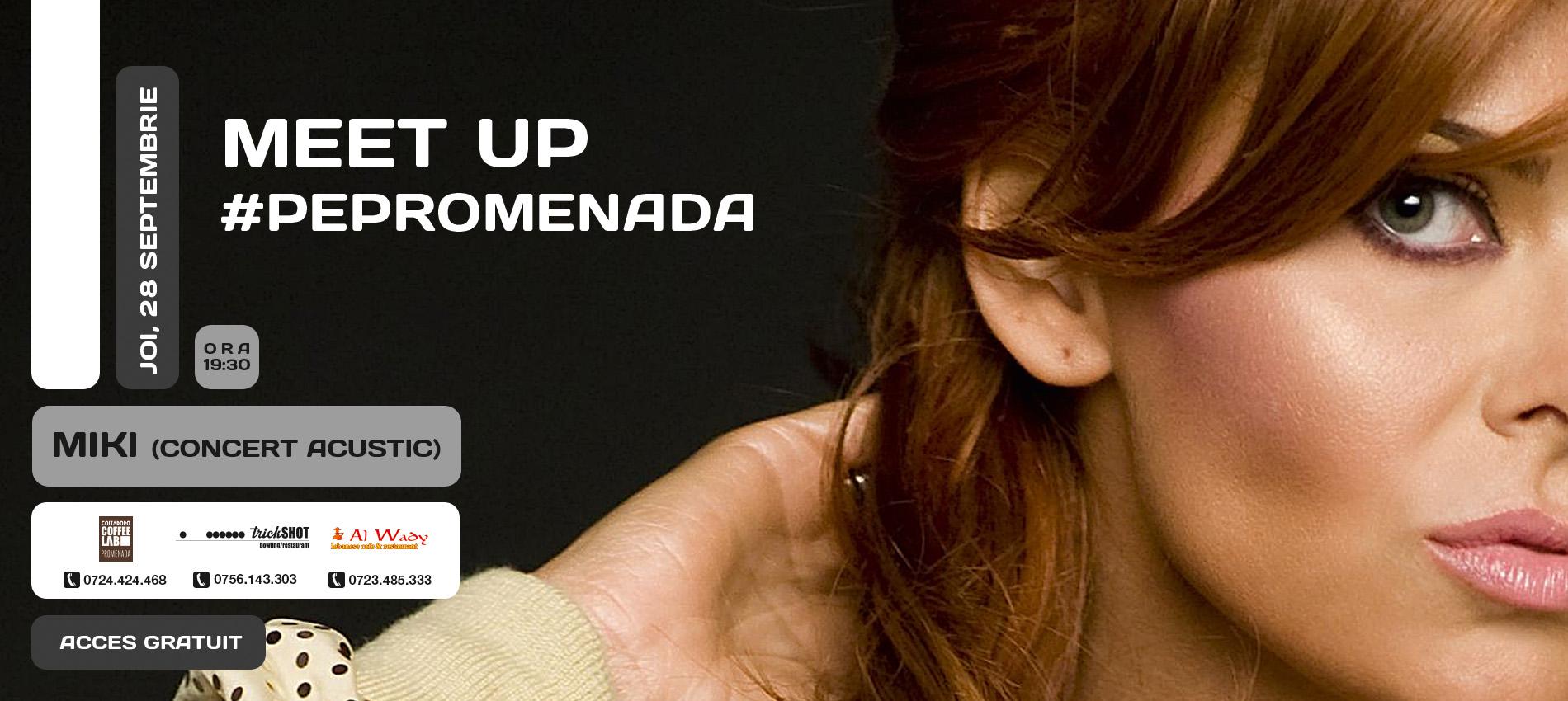 MEET UP #PePromenada   CONCERT MIKI-ACOUSTIC