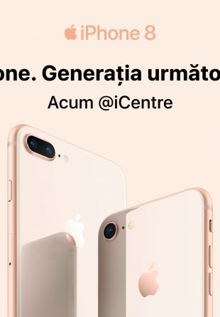 Vino să descoperi noul iPhone 8 la iCentre din Mall Promenada!