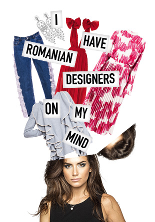 I have Romanian designers on my mind