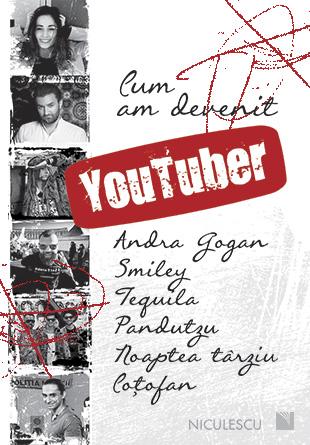 Lansarea cărții cu și despre Youtuberi
