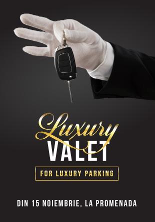 Valet parking – un serviciu premium Mall Promenada