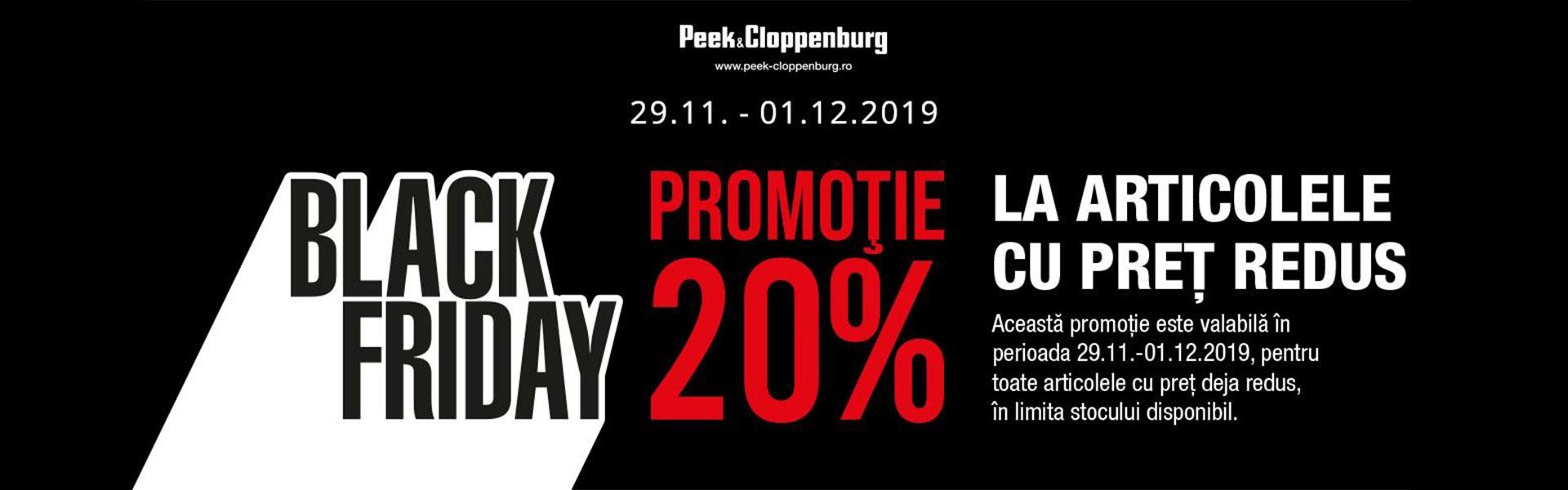 Peek Cloppenburg Black Friday