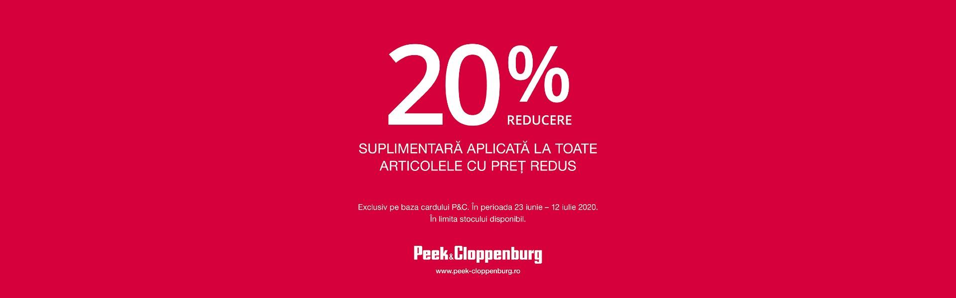 Peek Cloppenburg 20%