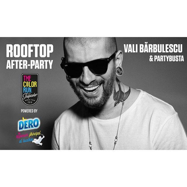 diseara ne distram impreuna in Bucuresti #pePromenada !!! #ValiBarbulescu #DJValiBarbulescu #partybusta #promenada #rooftop #rooftopparty #colorrun #tropicolor #music #dj #mix #turntablism #dero #Bucuresti #Romania