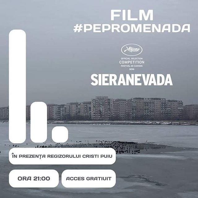 Soon: movie time #PePromenada Starting 9pm.  #movietime #urban #garden #open #outdoor #cinema #filmscreening #drama #comedy #romanianmovie #romanianmovienight #ontopoftheworld #sieranevada #oscar2017 #ig_bucharest #styleblogger #bucharest #bucharestmyhome #buchareststyle