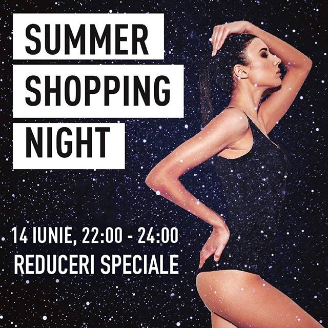 Tomorrow night we have plans: #shoptillyoudrop @PromenadaRo Details on promenada.ro  #shopping #shoppingnight #sale #lifestyle #shopper #fashion #fashionblogger #ig_bucharest #bucharest #buchareststyle