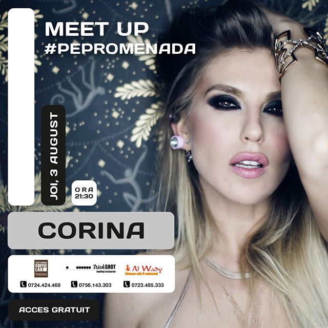 Ready to party? See you tomorrow! #fun #party #corina #bucharest #igbucharest #social #bucharestplaes #dance #move #love #celebration #PePromenada